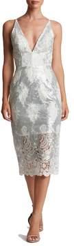 Dress the Population Angela Sequin Lace Dress