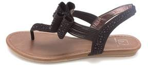 Material Girl Womens Shayleen Open Toe Casual T-strap Sandals.
