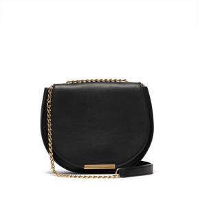 Cuyana Mini Chain Saddle Bag