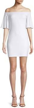 Susana Monaco Women's Off-The-Shoulder Bell-Sleeve Dress