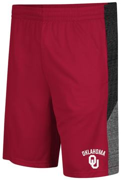 Colosseum Men's Campus Heritage Oklahoma Sooners Friction Shorts
