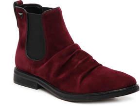 GUESS Men's Jarson Velvet Boot