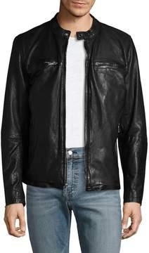 Karl Lagerfeld Men's Moto Jacket