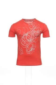 Converse Red Graphic T-Shirt Tee Shirt