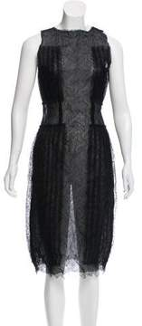 Rodarte Sleeveless Lace Dress