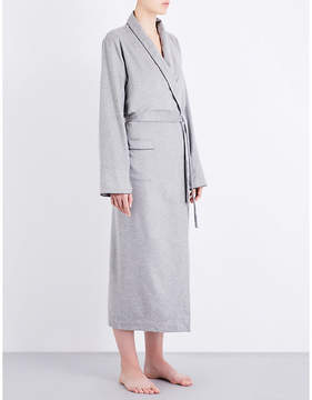 Bodas Cashmere tie-waist robe