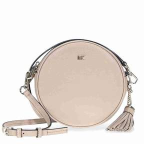 Michael Kors Mercer Medium Pebbled Leather Crossbody- Truffle - ONE COLOR - STYLE