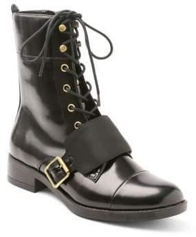Kensie Carlyn Patent Leather Booties