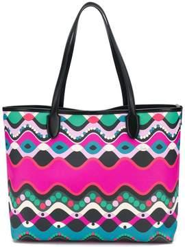Emilio Pucci abstract print shopping bag