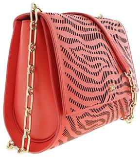 Roberto Cavalli Small Shoulder Bag Audrey 001 Coral Shoulder Bag