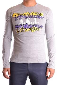 Frankie Morello Men's Grey Cotton T-shirt.