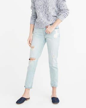 Abercrombie & Fitch Low Rise Boyfriend Jeans