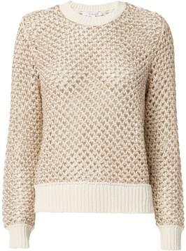 Derek Lam 10 Crosby Honeycomb Open Weave Sweater