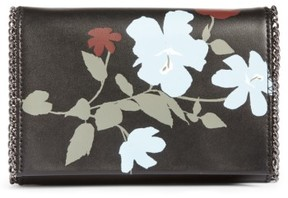 Chelsea28 Fleur Faux Leather Clutch - Black