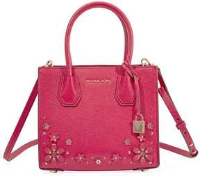 Michael Kors Mercer Medium Crossbody Bag- Deep Pink - ONE COLOR - STYLE