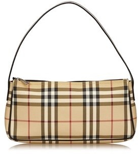 Burberry Pre-owned: Plaid Pvc Shoulder Bag. - BROWN X BEIGE X MULTI - STYLE