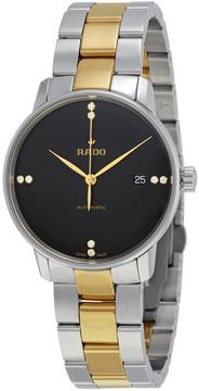 Rado Coupole Black Dial Diamond Automatic Men's Watch