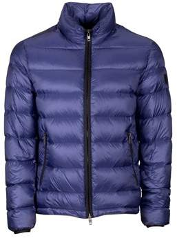 Fay Men's Blue Polyester Down Jacket.