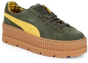 Puma Men's Cleated Creeper Suede Platform Sneakers