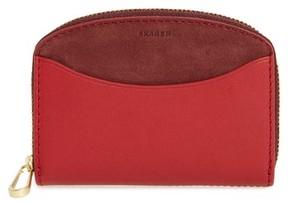 Skagen Women's Zip Coin Wallet - Red