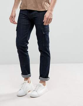 Loyalty And Faith Tapered Cargo Pants Pants in Indigo Wash