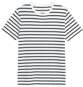 J.Crew Deck Stripe Slub Cotton T-Shirt
