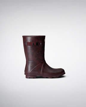 Hunter Women's Norris Field Printed Short Rain Boots
