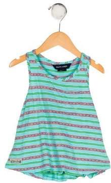 Polo Ralph Lauren Girls' Striped Knit Top