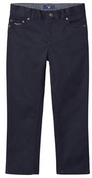 Gant Navy 5 Pocket Trousers
