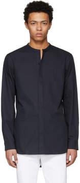 Lemaire Navy Liquette Shirt