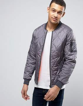 Blend of America Quilted Bomber Jacket