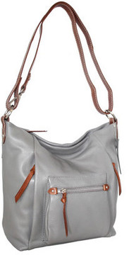 Women's Nino Bossi Mariel Leather Shoulder Bag