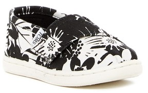 Toms Alpargata Tropical Print Slip-On (Toddler)