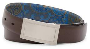 Robert Graham Harkness Leather Belt