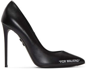 Off-White Black For Walking Stiletto Heels