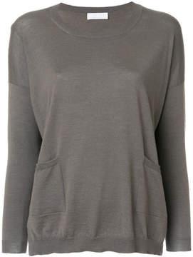 Le Tricot Perugia pocket detailed T-shirt
