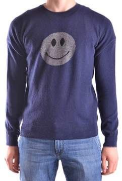 Altea Men's Blue/grey Wool Sweater.