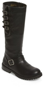 Frye Girl's Veronica Tall Buckle Strap Boot
