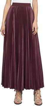 BCBGMAXAZRIA Dallin Pleated Maxi Skirt