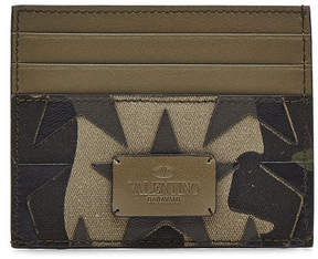 Valentino Card Holder with Leather