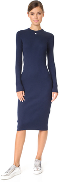 Courreges Open Wrist Midi Dress