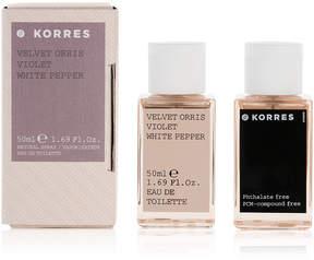 Korres Velvet Orris Violet White Pepper Eau de Toilette, 1.7-oz.