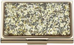 Kate Spade Simply Sparkling Business Card Holder - GOLD - STYLE