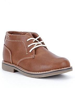 Steve Madden Boys' BCHUKA Plain Toe Chukka Boots
