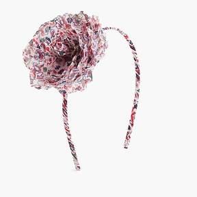 J.Crew Girls' fabric flower headband