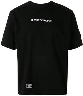 Kokon To Zai embroidered inside-out T-shirt