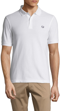 Fred Perry Men's Solid Short Sleeve Piqu Polo