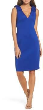Eliza J Bow Sheath Dress