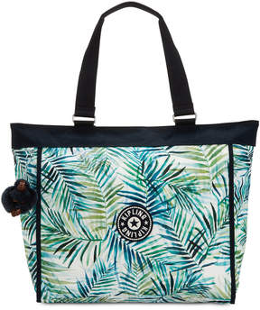 Kipling Shopper Extra-Large Tote - LIVELY MEADOWS COMBO/SILVER - STYLE