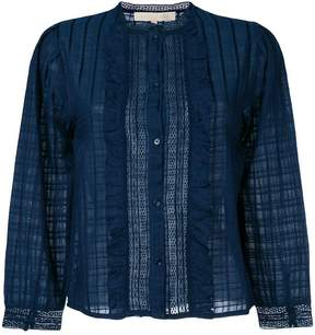 Vanessa Bruno frill trimmed blouse